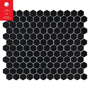 JPG BMP Mini HEXAGON Black Płytka gres: 23x26x7: 300x260