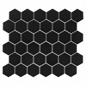 Hexagon Black 51 matt Płytka cera 51 x 58 x 6 320 x 280