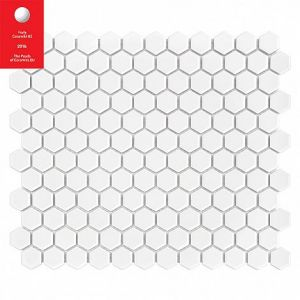 JPG BMP Mini HEXAGON White Płytka gres: 23x26x7X 300x260